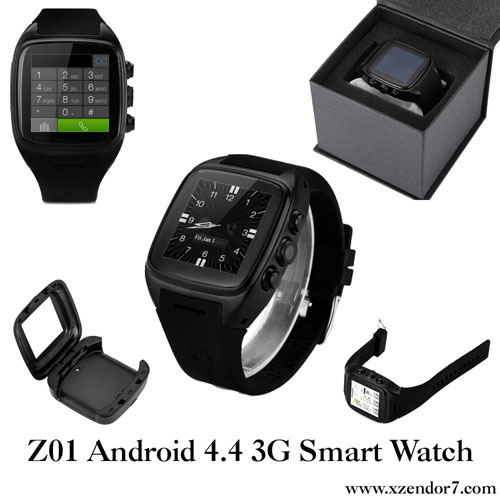 Z01 Android 4.4 3G Smart Watch