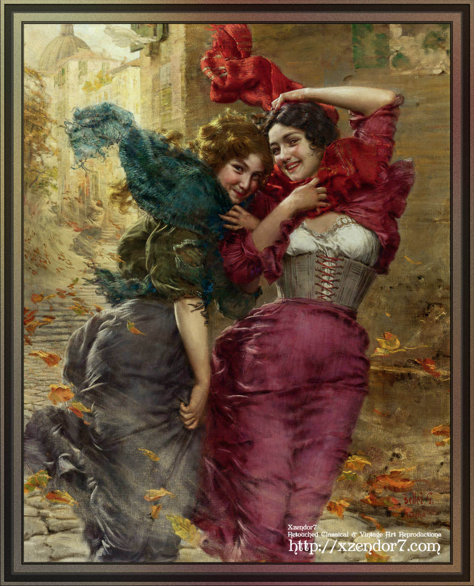 A Windy Day by  Gaetano Bellei