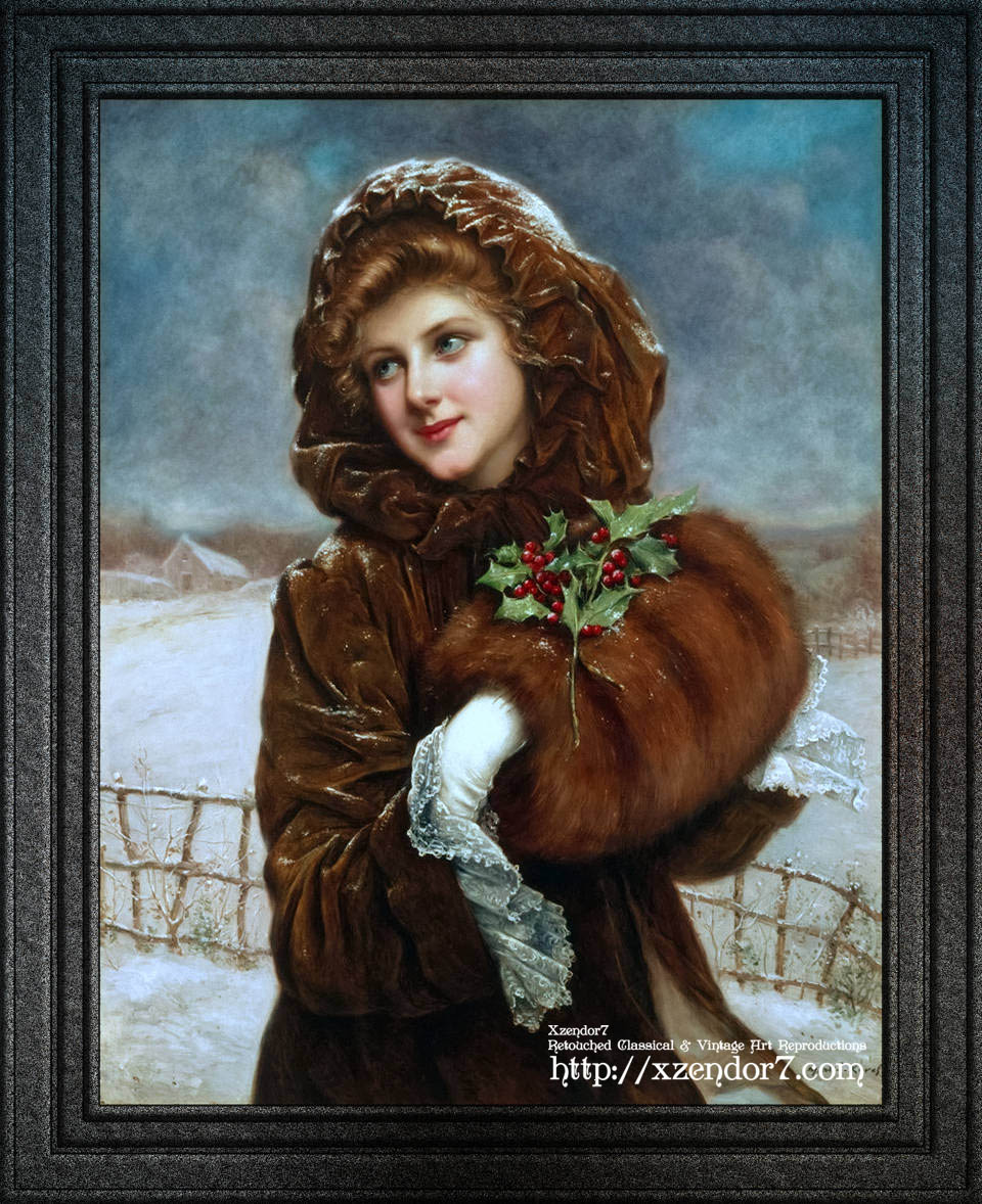 A Winter Beauty by Francois Martin-Kavel