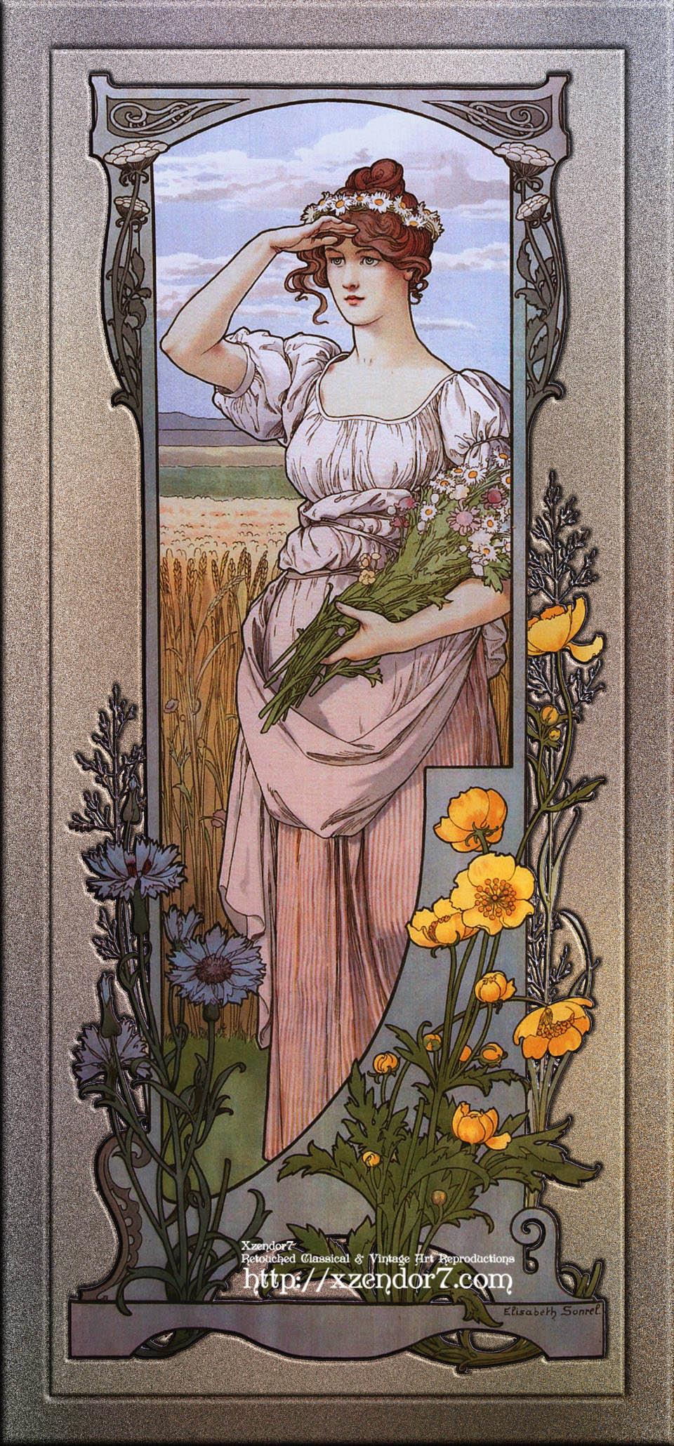 Wildflowers by Élisabeth Sonrel