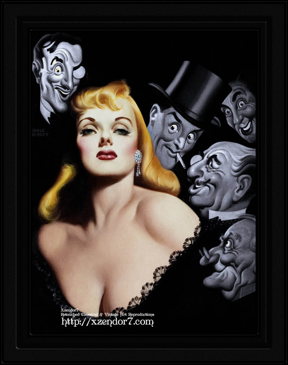 Gentlemen Prefer Blondes by Earle Kulp Bergey