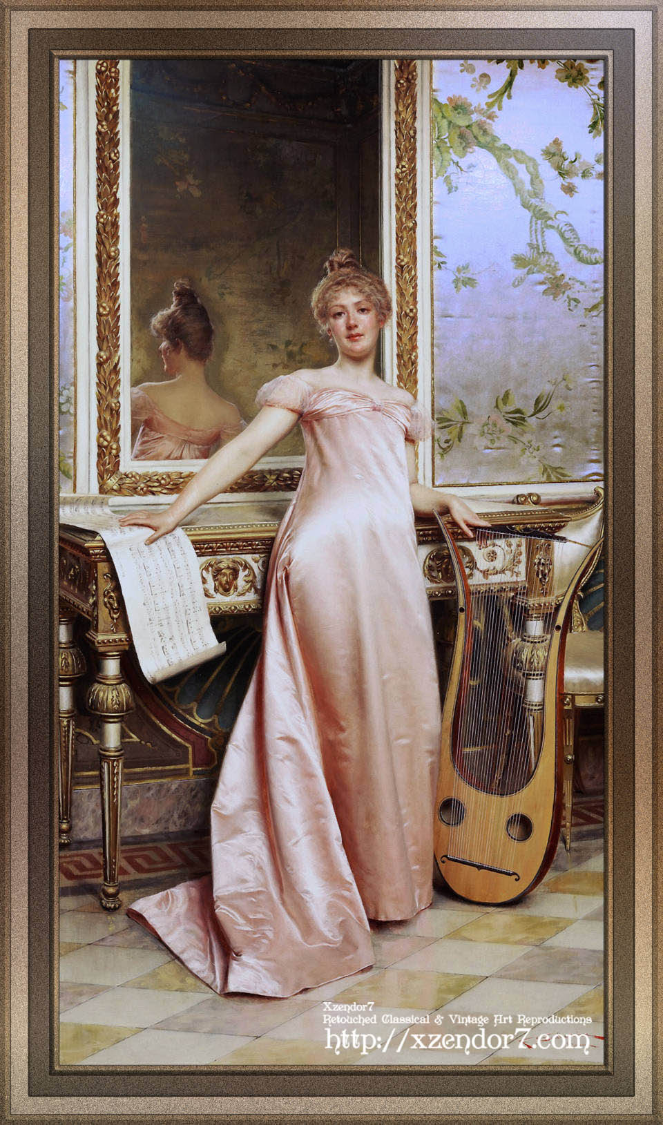 Her Music Lesson by Frédéric Soulacroix