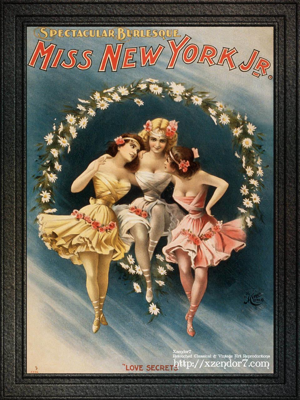 Miss New York Jr. Spectacular Burlesque Love Secrets