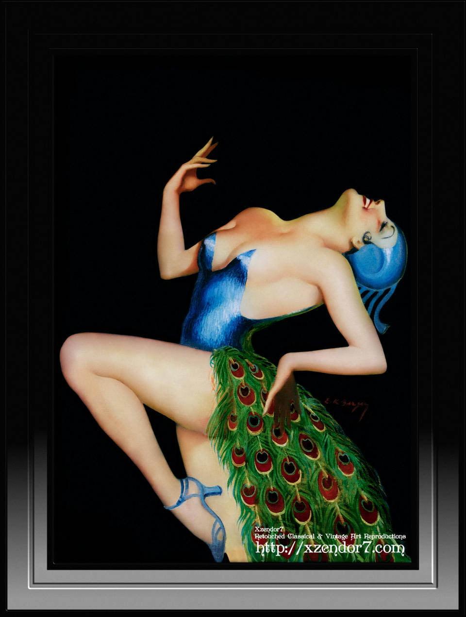 Peacock Dancer by Earle Kulp Bergey
