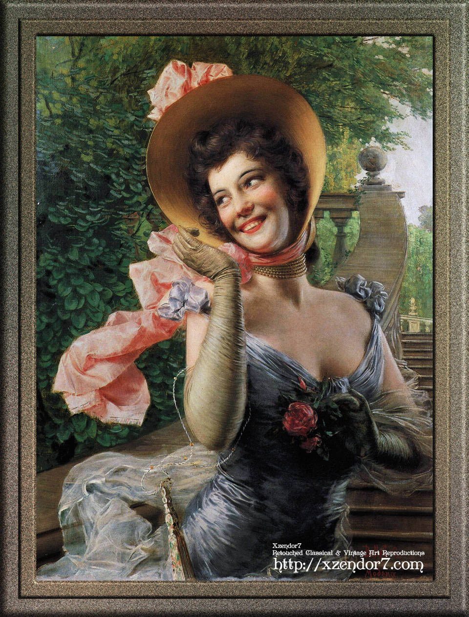 Portrait of a Lady by Gaetano Bellei