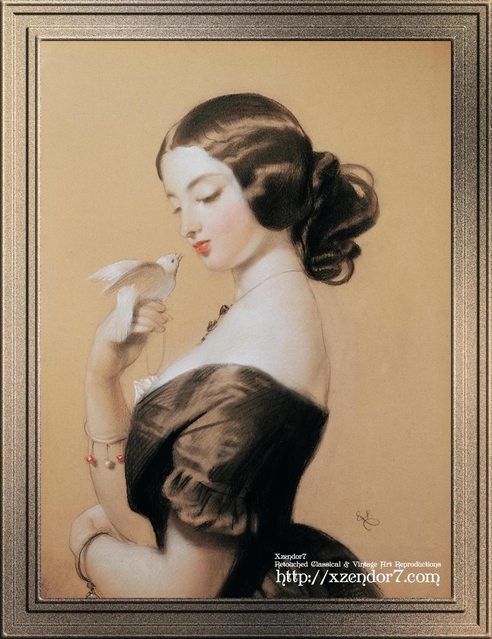 Miss Ellen Power by Sir Edwin Henry Landseer
