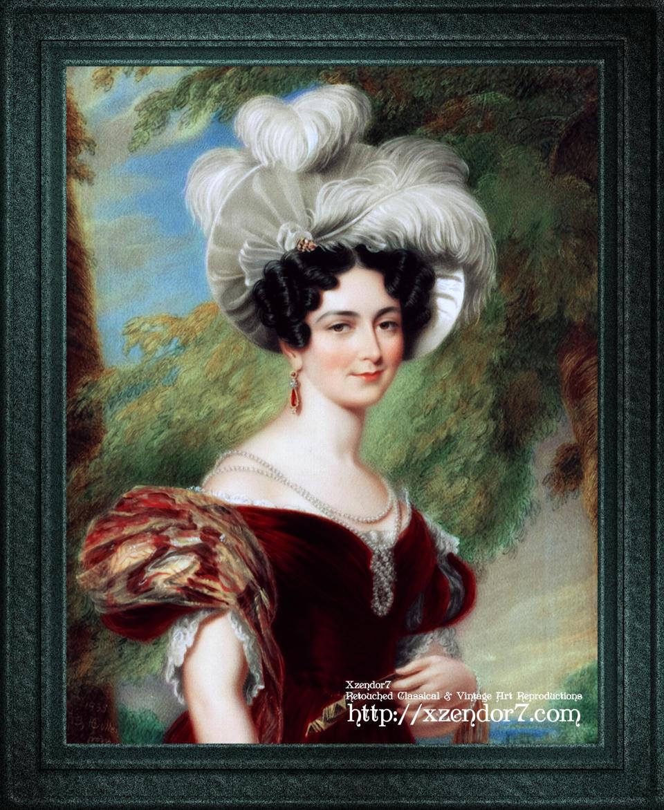 Victoria, Duchess of Kent by George Hayter