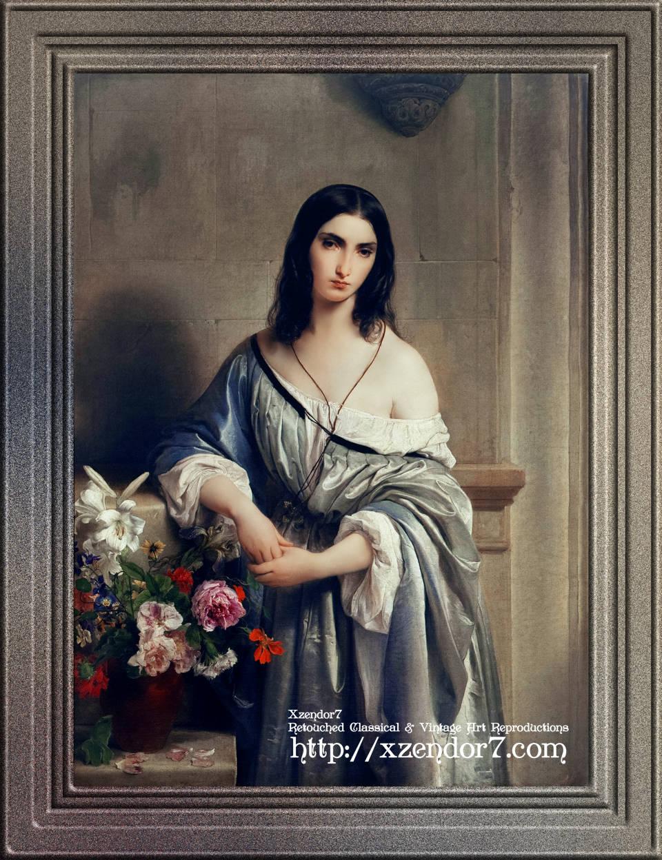 Melancholy by Francesco Hayez