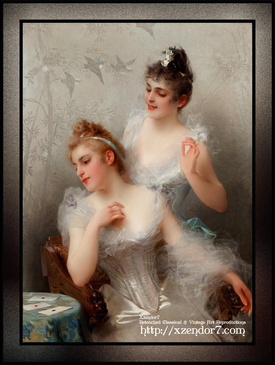 The Three Aces by Vittorio Matteo Corcos