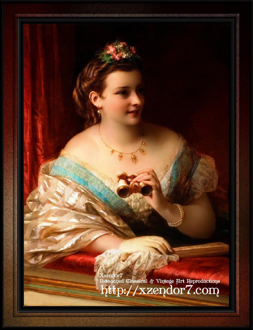 At The Opera by Thomas Francis Dicksee
