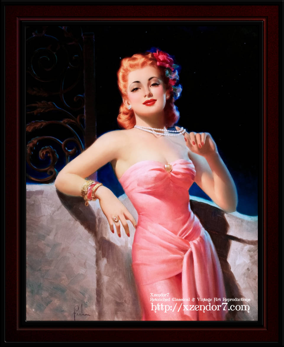 Sultry Evening Glamour by Art Frahm