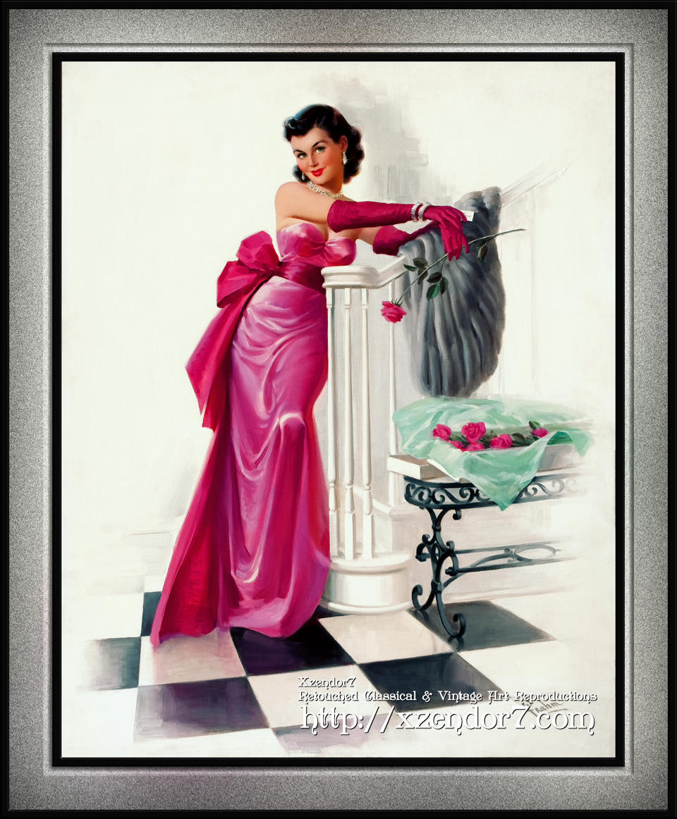 A Valentines Day Evening Rose by Art Frahm