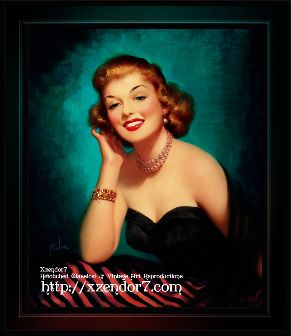 Evening Glamour Girl by Art Frahm