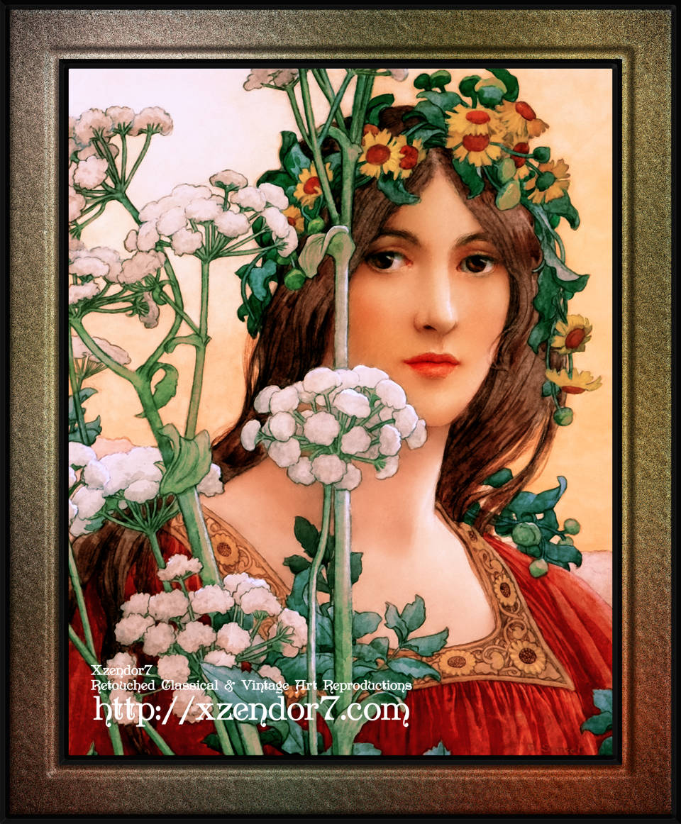Our Lady of the Cow Parsley by Élisabeth Sonrel