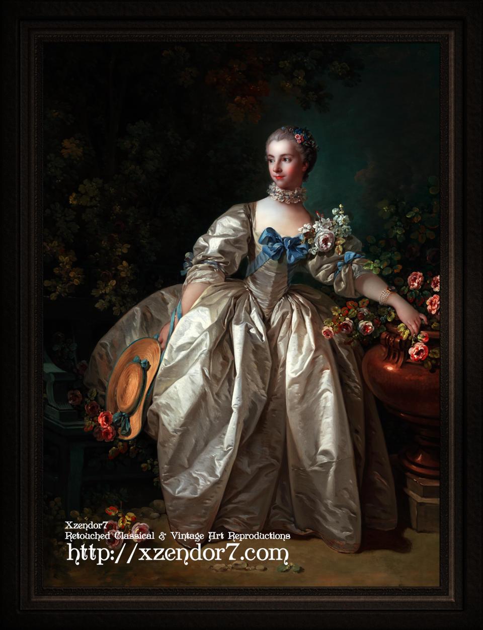 Madame Bergeret by François Boucher