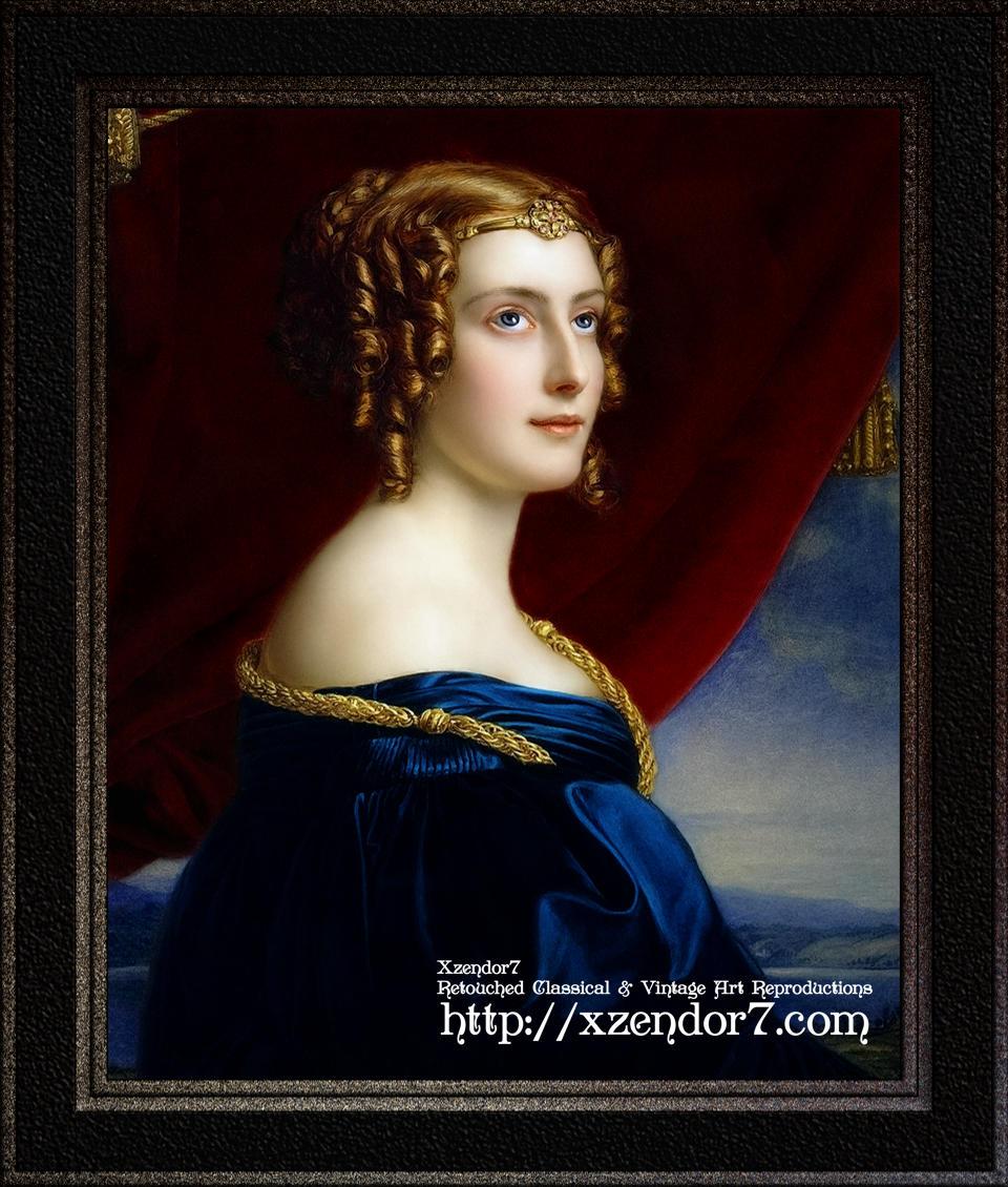 Portrait of Lady Jane Ellenborough by Joseph Karl Stieler