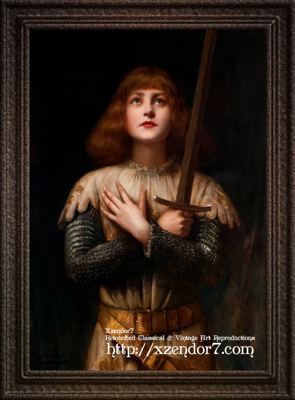 Sainte Jeanne d'Arc by Paul Antoine De La Boulaye