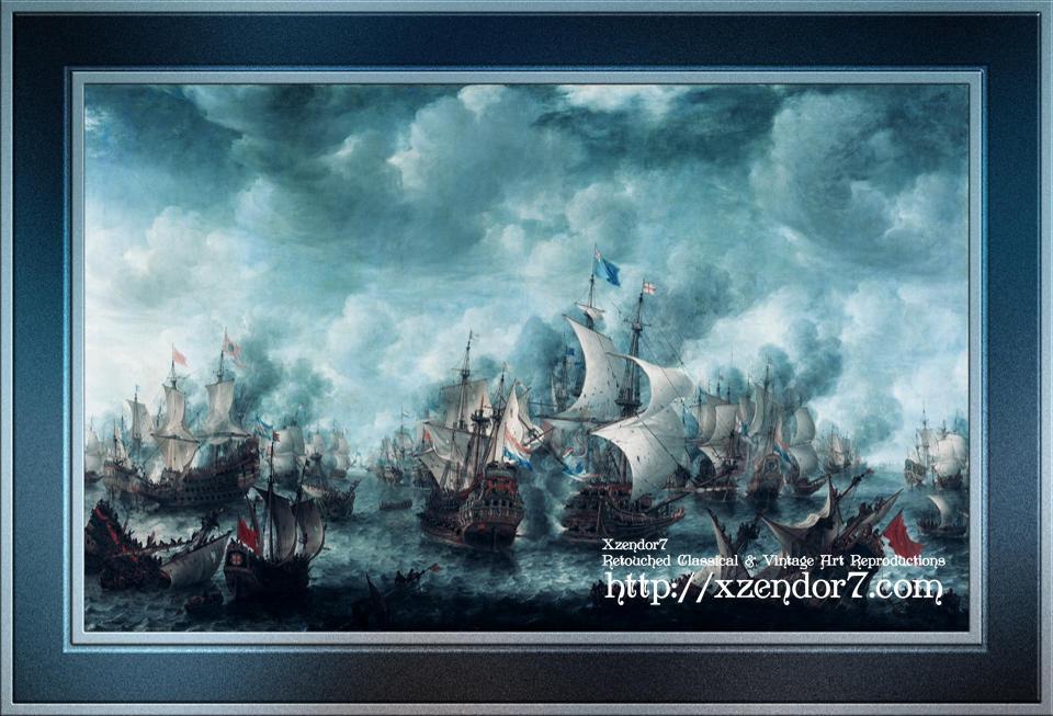 The Battle of Terheide by Jan Abrahamsz Beerstraaten