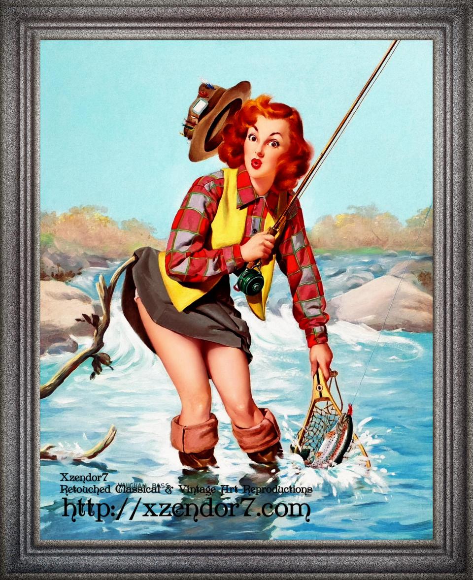 A Double Catch by Vaughan Alden Bass