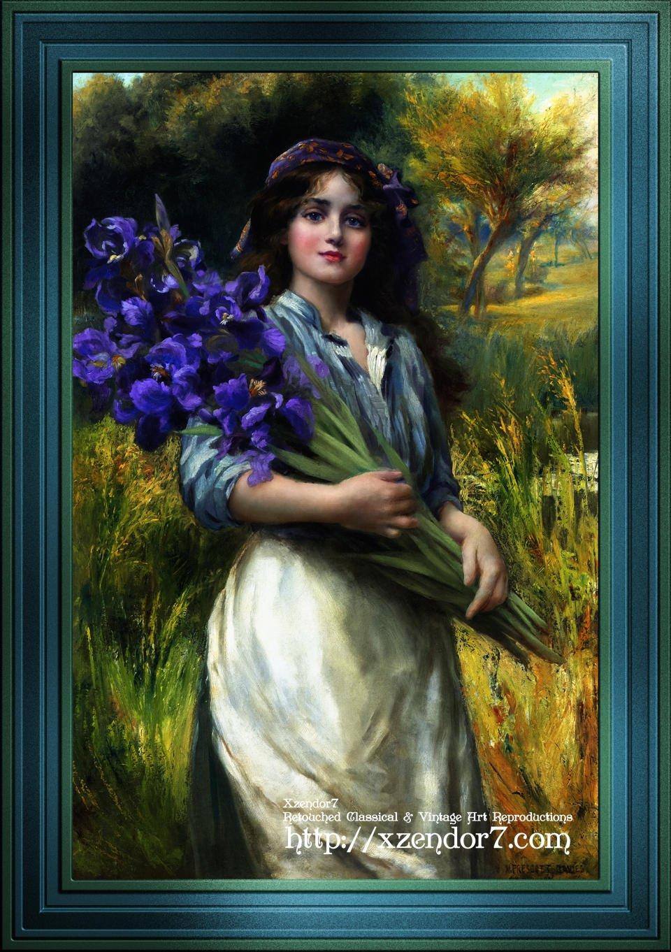Iris by Norman Prescott-Davies