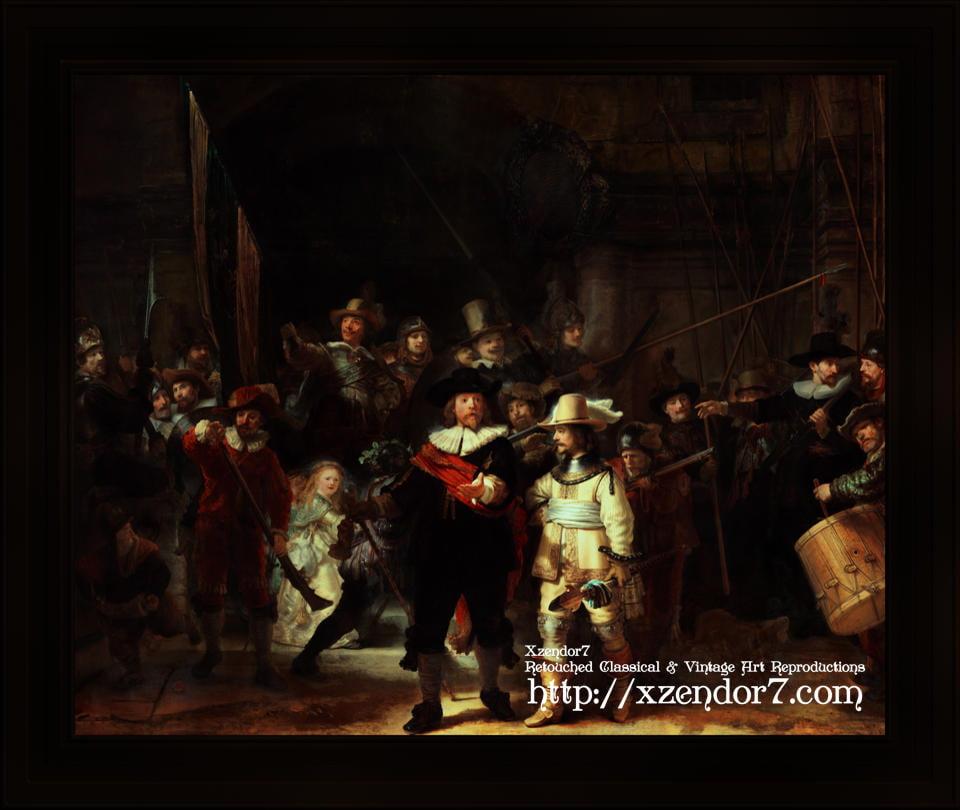 The Night Watch (De Nachtwacht) by Rembrandt van Rijn