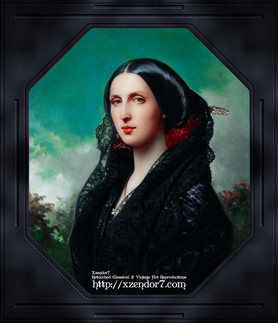 Portrait of Princess Maria Ilyinichna Golitsyna by Federico de Madraso y Kunz