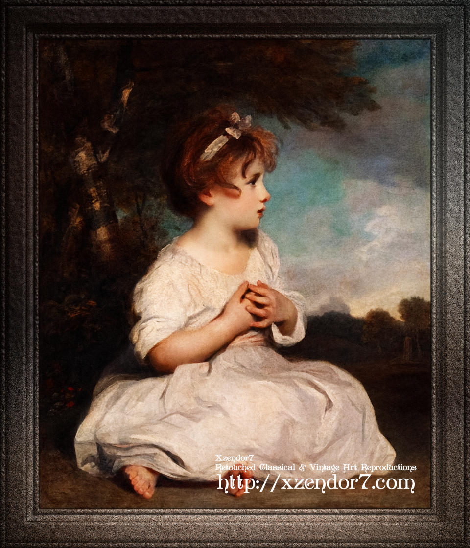 The Age of Innocence by Joshua Reynolds