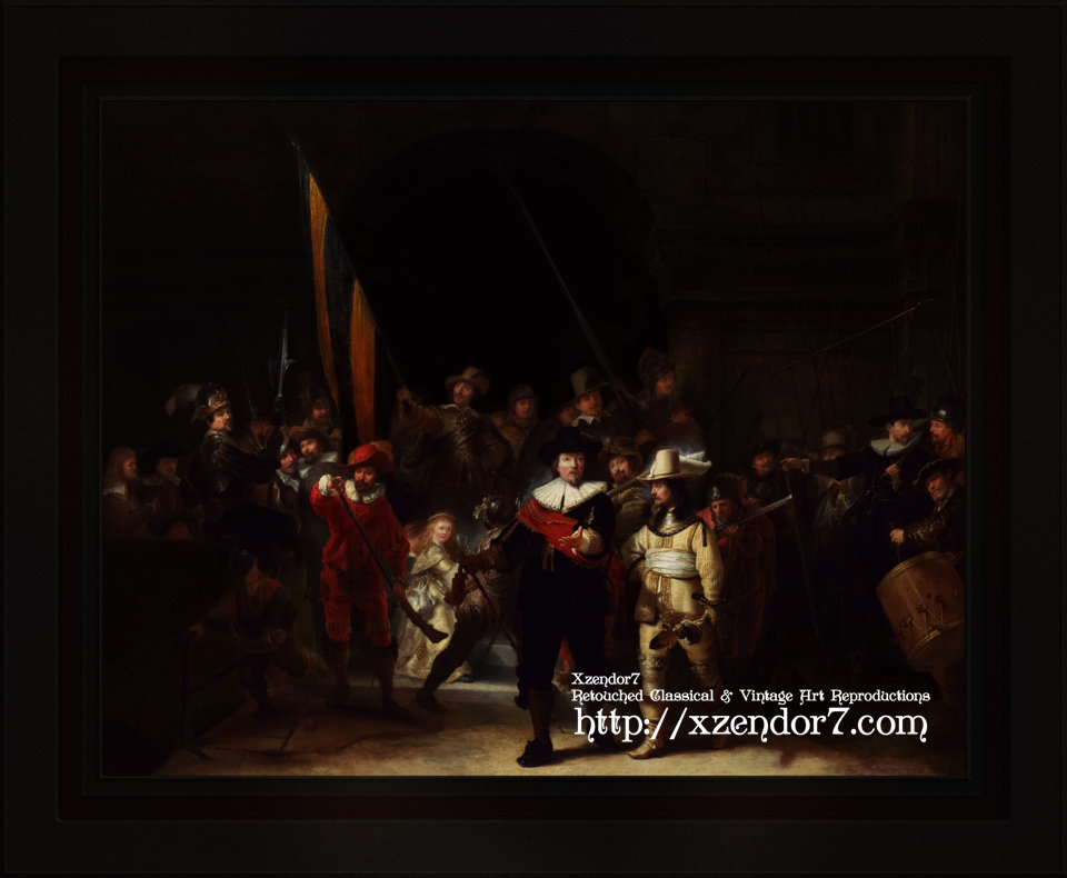 The Company of Captain Banning Cocq by Gerrit Lundens