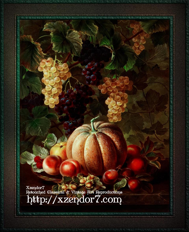 Pumpkin Platter by Johan Laurentz Jensen