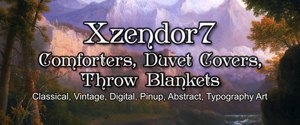 Xzendor7 Comforters, Duvet Covers and Throw Blankets