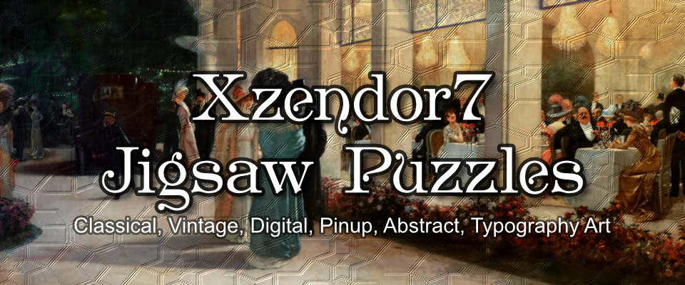 Xzendor7 Custom Art Jigsaw Puzzles