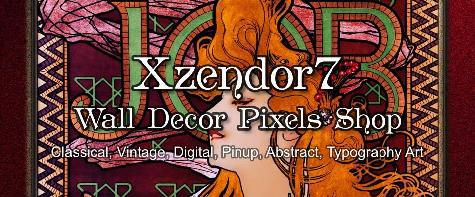 Xzendor7 Pixels Shop