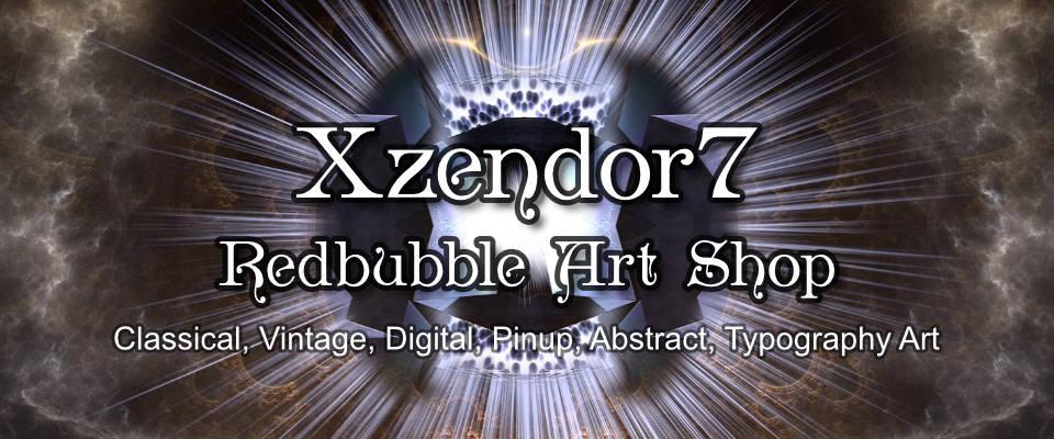 Xzendor7 Redbubble Shop