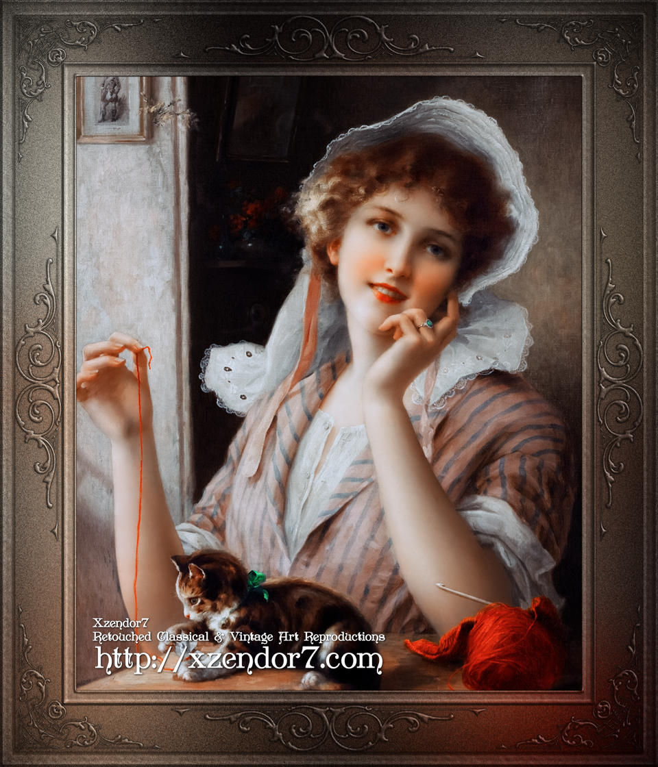 At Play by Emile Vernon