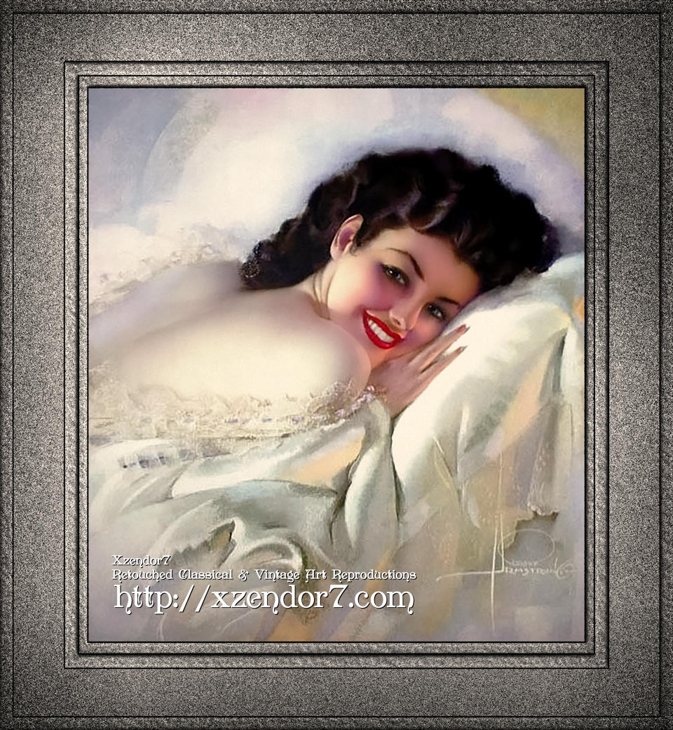 Sweet Dreams My Lovely by Rolf Armstrong