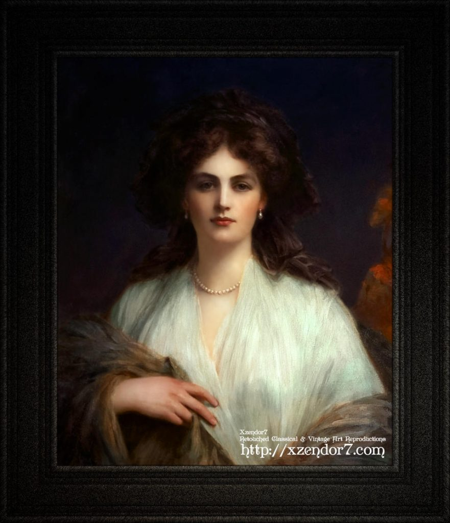 Lady Beatrice Butler by Ellis William Roberts
