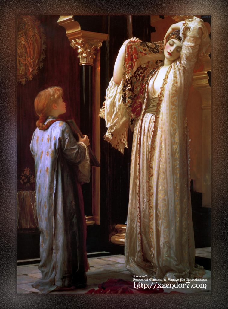 Light of the Harem by Lord Frederic Leighton