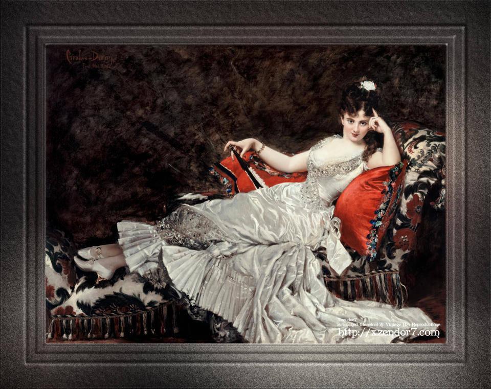 Mademoiselle de Lancey by Carolus-Duran