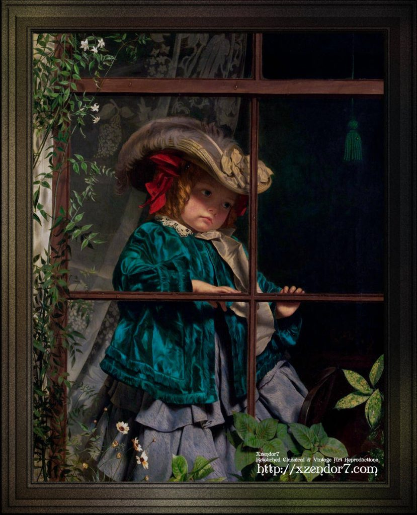 No Walk Today by Sophie Gengembre Anderson