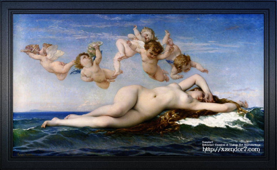 The Birth Of Venus by Alexandre Cabanel