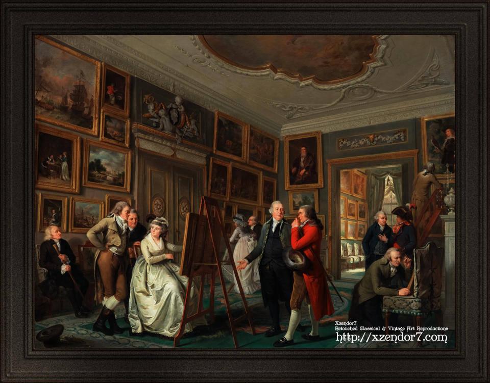 The Art Gallery of Jan Gildemeester Jansz by Adriaan de Lelie