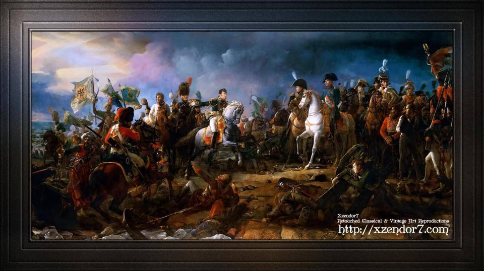The Battle of Austerlitz by François Pascal Simon, Baron Gérard