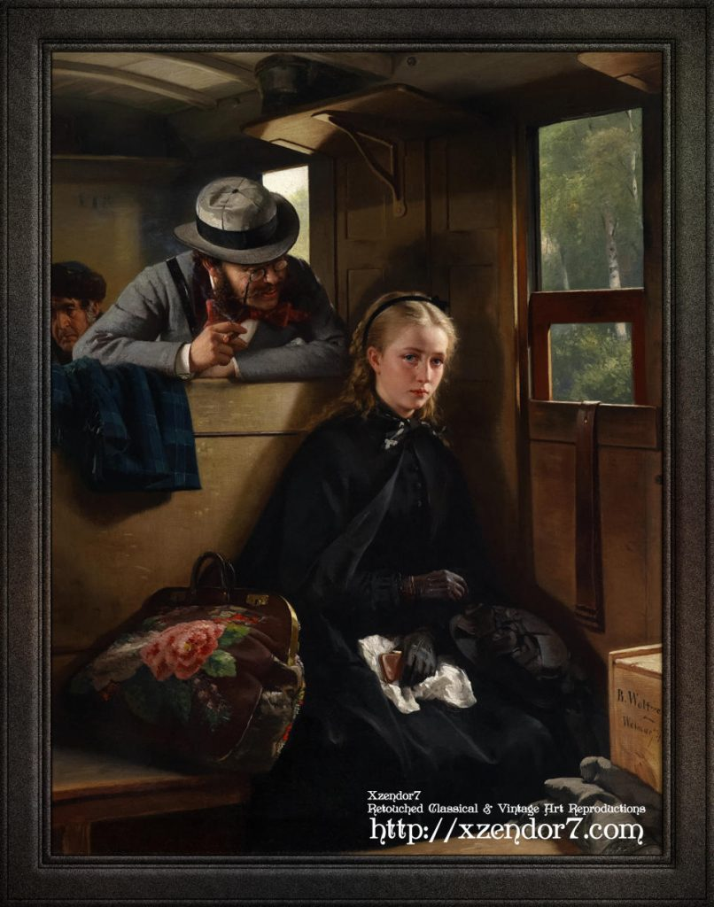The Irritating Gentleman by Berthold Woltze