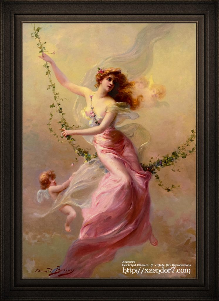 The Swing by Edouard Bisson
