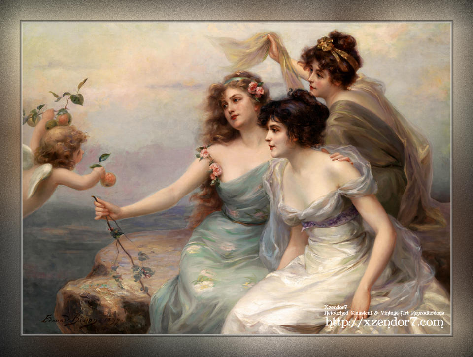 The Three Graces by Edouard Bisson