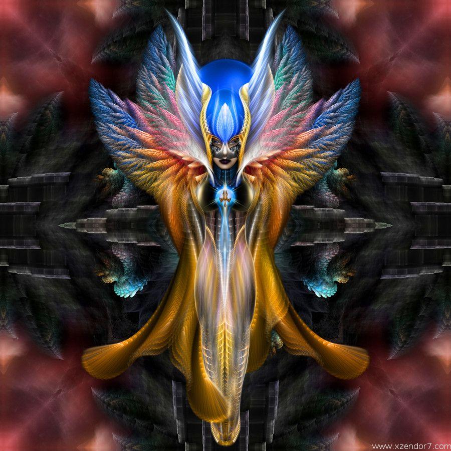 Arsencia The Golden Setren Fractal Art Composition