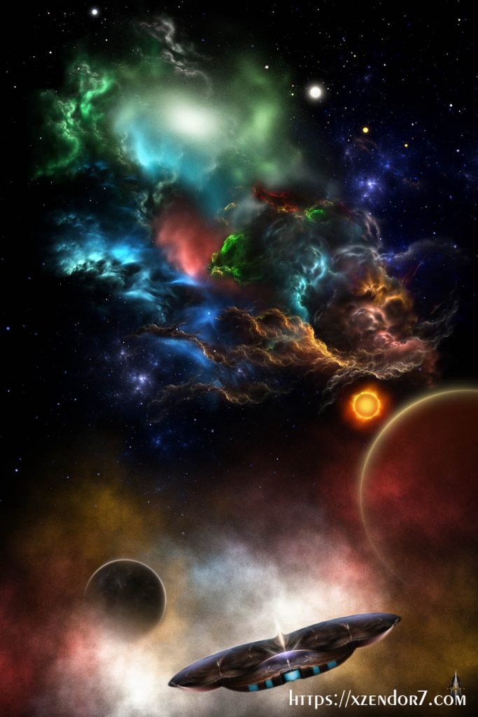 Beyond Space & Time Fractal Art II Spacescape